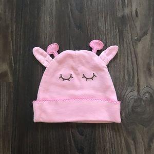 Pink Giraffe Beanie